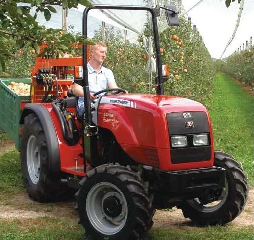 Photo du Tracteurs agricoles MF 3340 V Arceau Rabattable
