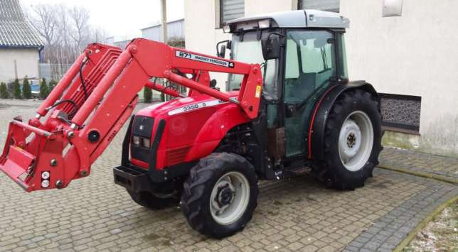 Photo du Tracteurs fruitiers MF 3350 S Cabine
