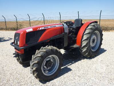 Photo du Tracteurs fruitiers MF 3355 S Arceau Rabattable