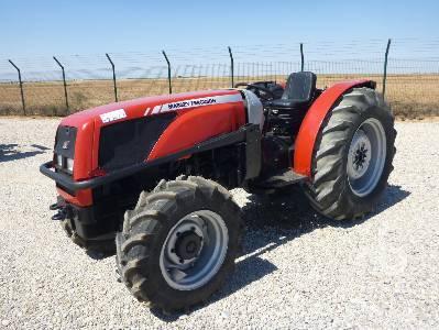 Photo du Tracteurs fruitiers MF 3355 S Arceau Rabattable