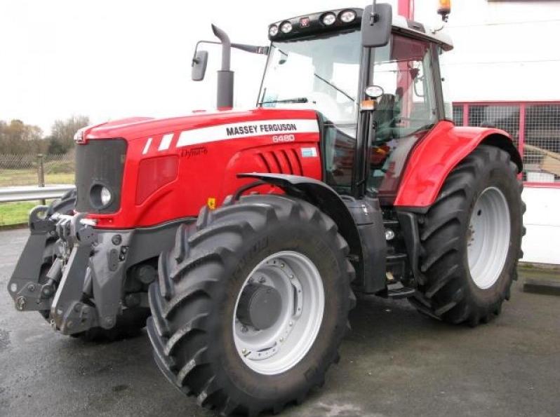 Photo du Tracteurs agricoles MF 6480 Elite
