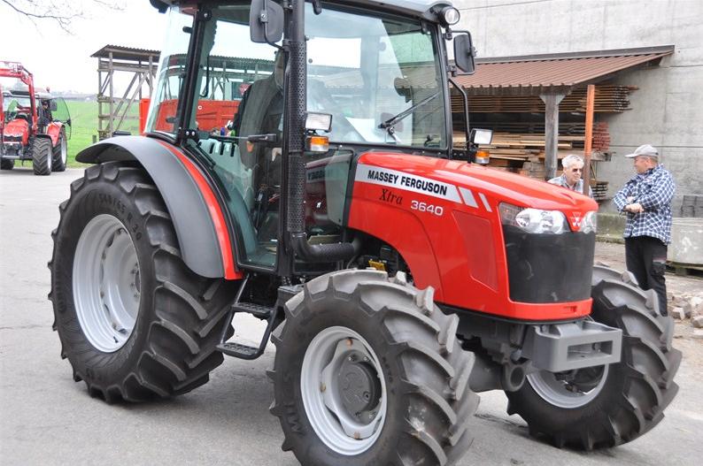 Photo du Tracteurs agricoles MF 3640