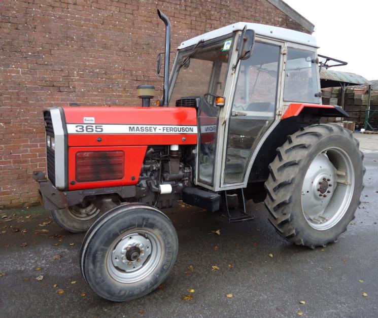 Photo du Tracteurs agricoles MF 365 Confort