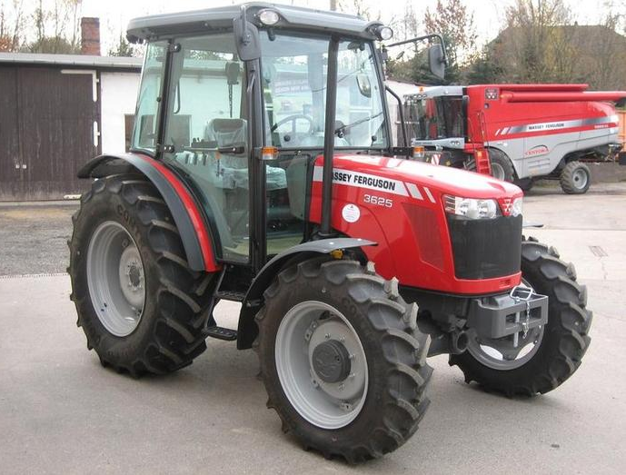 Photo du Tracteurs agricoles MF 3650 A Cabine