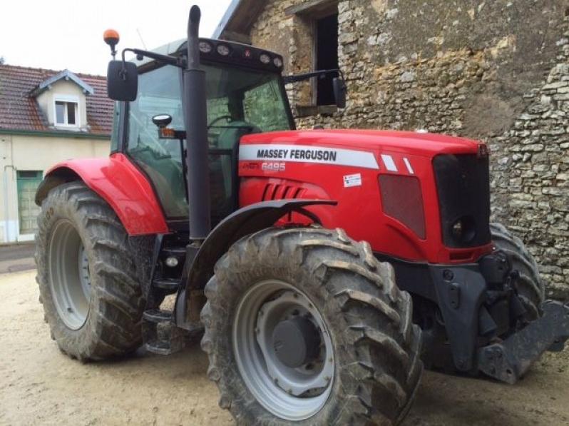Photo du Tracteurs agricoles MF 6495 Elite