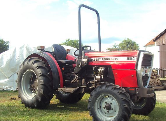 Photo du Tracteurs fruitiers MF 354 Basset