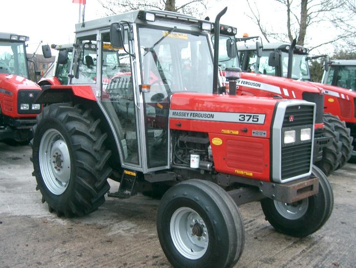 Photo du Tracteurs agricoles MF 375 Confort
