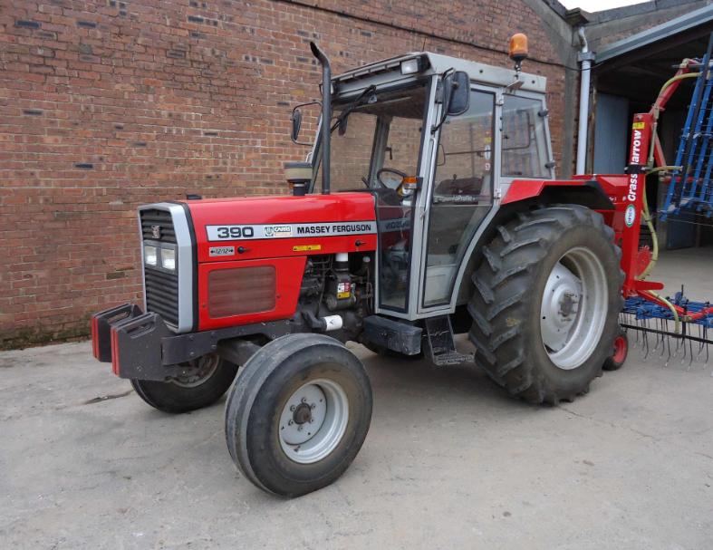 Photo du Tracteurs agricoles MF 390 Cabine