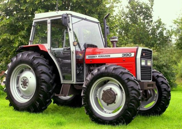 Photo du Tracteurs agricoles MF 390 T Confort