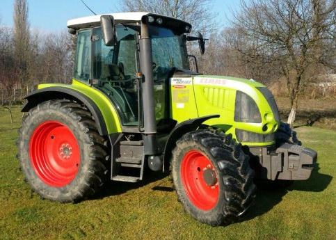 Photo du Tracteurs agricoles ARES 557 ATX