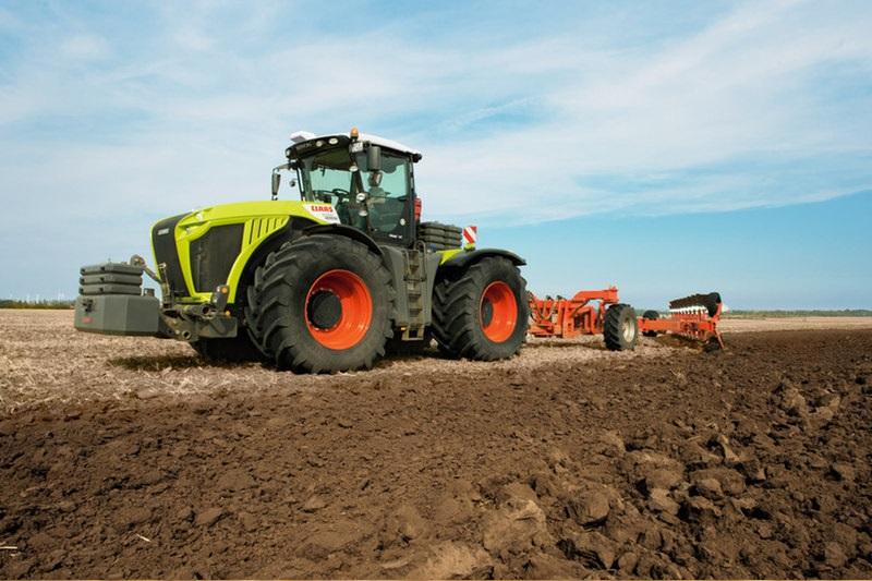 Photo du Tracteurs agricoles Xerion 4500