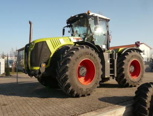Photo du Tracteurs agricoles Xerion 4500 Trac