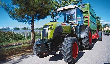 Photo du Tracteurs vignerons Nectis 217 VE / VL
