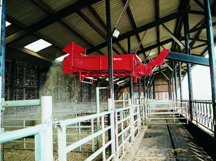 Photo du Distributrices-pailleuses DT125S
