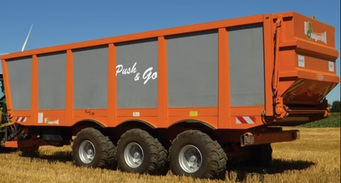 Photo du Remorques agricoles Push & Go