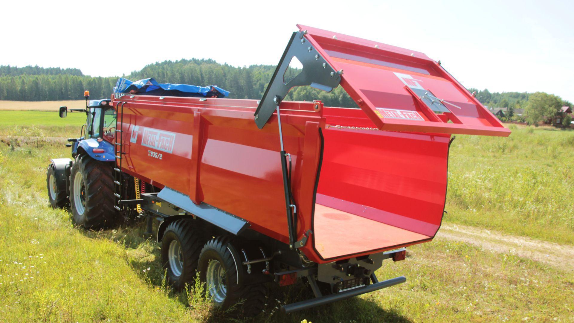 Photo du Remorques agricoles T935 | Metal-Fach