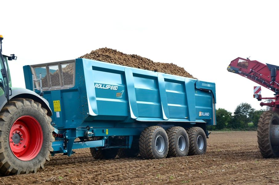 Photo du Remorques agricoles ROLLSPEED 8851 HD