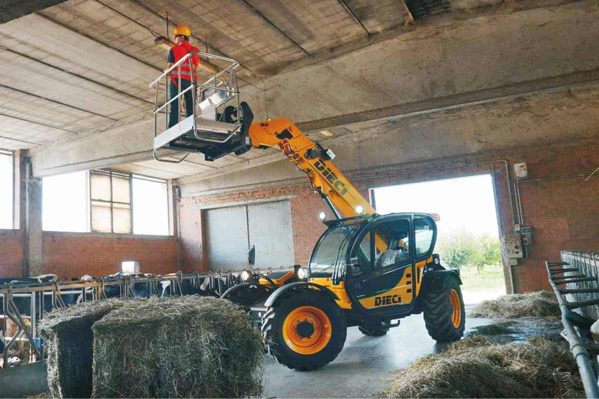 Photo du Chargeurs télescopiques Agri Farmer 32.6