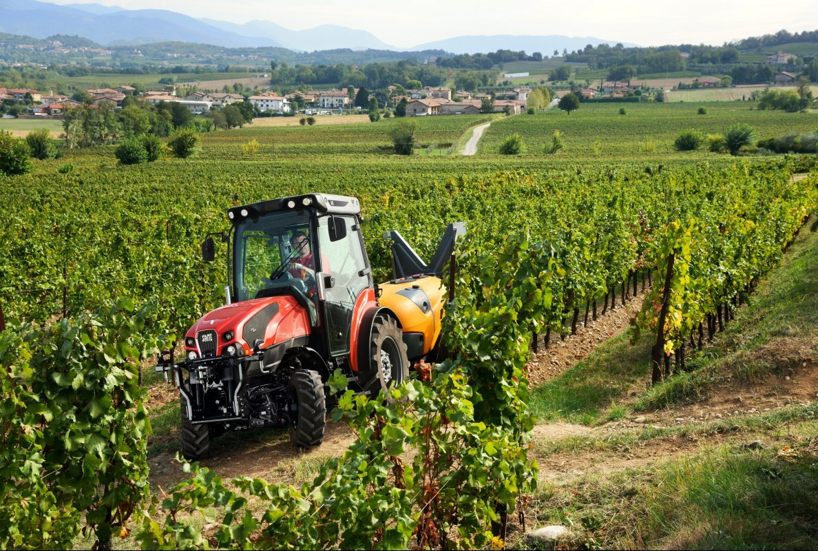 Photo du Tracteurs fruitiers Frutteto CVT 105 S