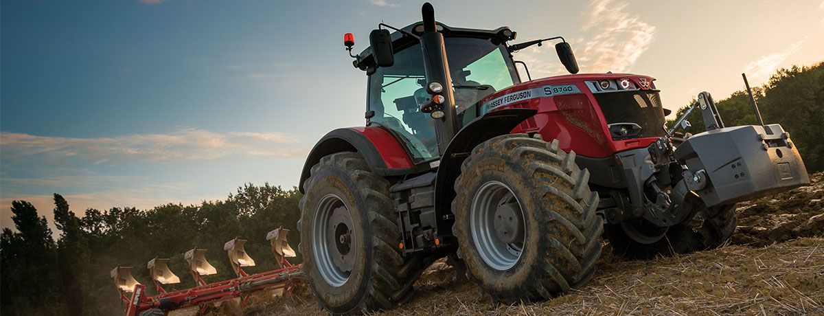 Photo du Tracteurs agricoles MF 8737 S