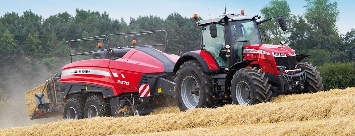Photo du Tracteurs agricoles MF 8740 S