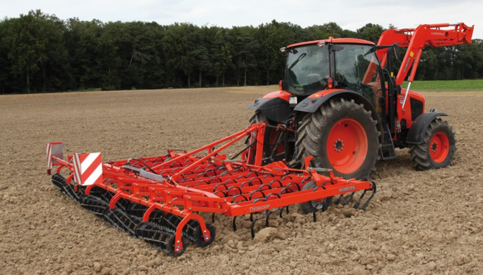 Photo du Vibroculteurs/ Combinés de préparation de sols TH3000