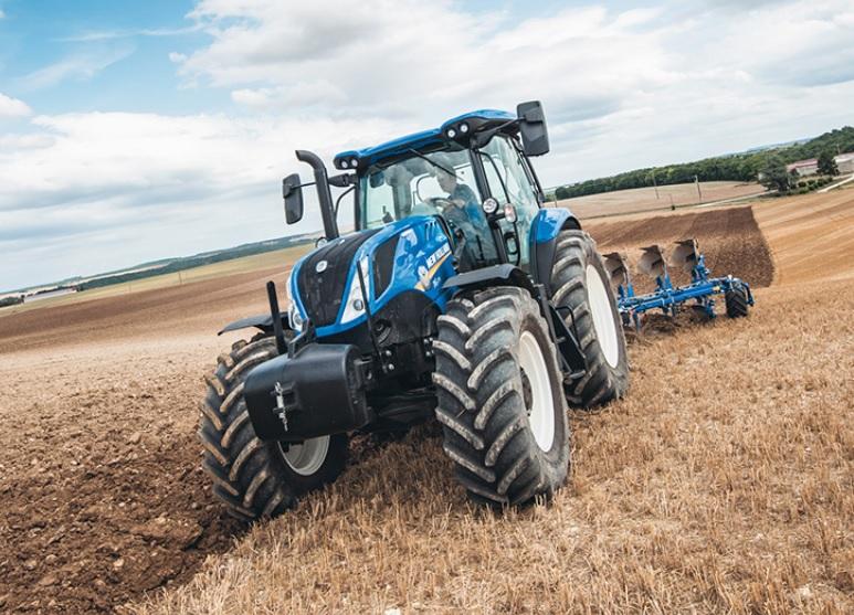 Photo du Tracteurs agricoles T6.125 S Deluxe