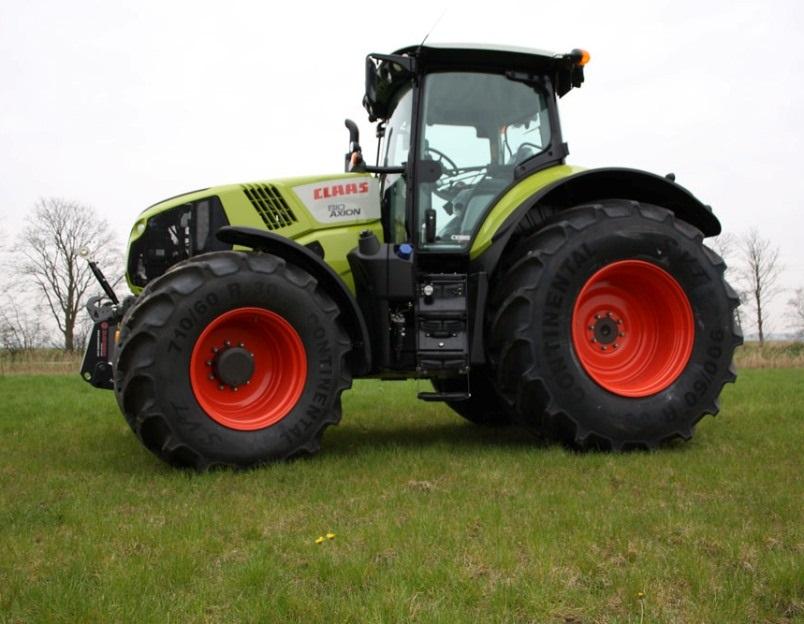 Photo du Tracteurs agricoles Axion 800