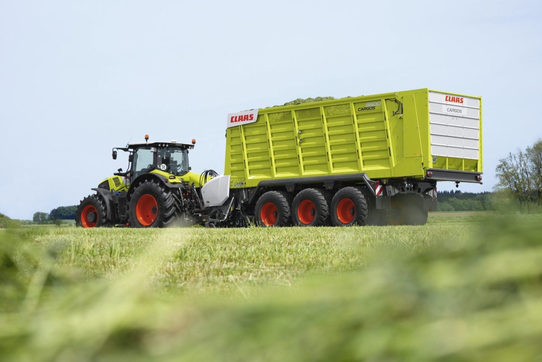 Photo du Remorques auto-chargeuses Cargos 9500