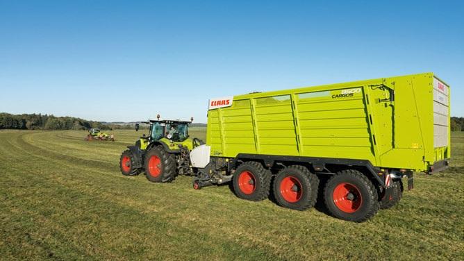 Photo du Remorques auto-chargeuses Cargos 8300