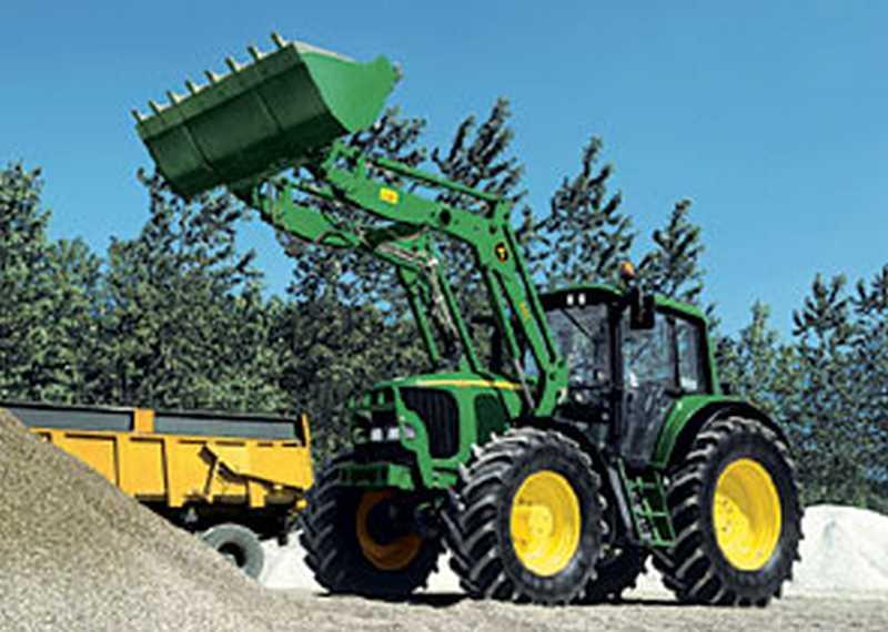 Photo du Chargeurs frontaux NSL/ HSL pour tracteurs série 10