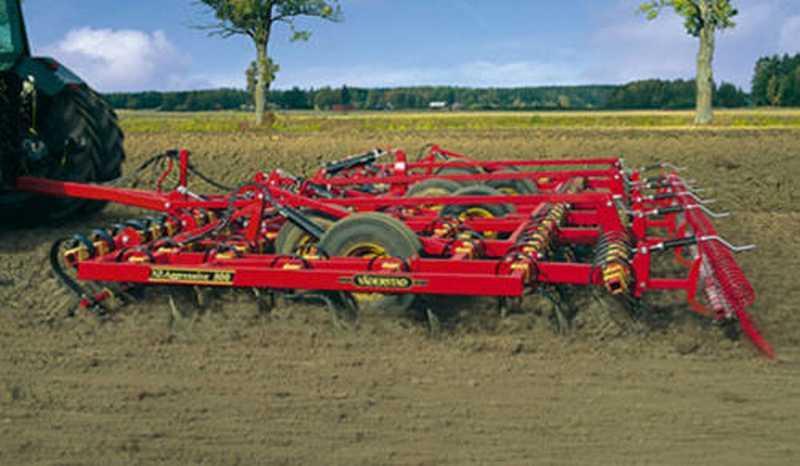 Photo du Vibroculteurs/ Combinés de préparation de sols NZA 600