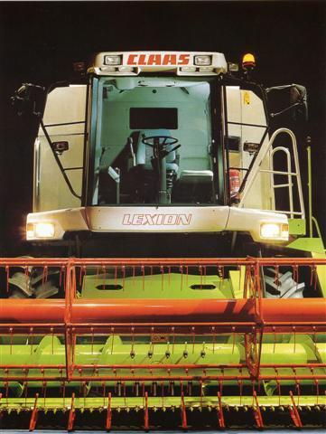 Photo du Moissonneuses-batteuses à secoueurs Lexion 420