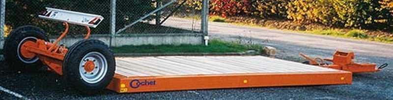 Photo du Plateau de transport Pozossol (non directionnel)