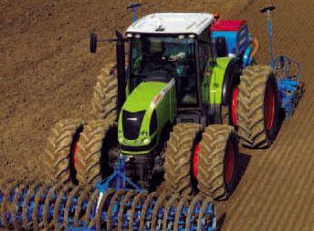 Photo du Tracteurs agricoles Arès 547