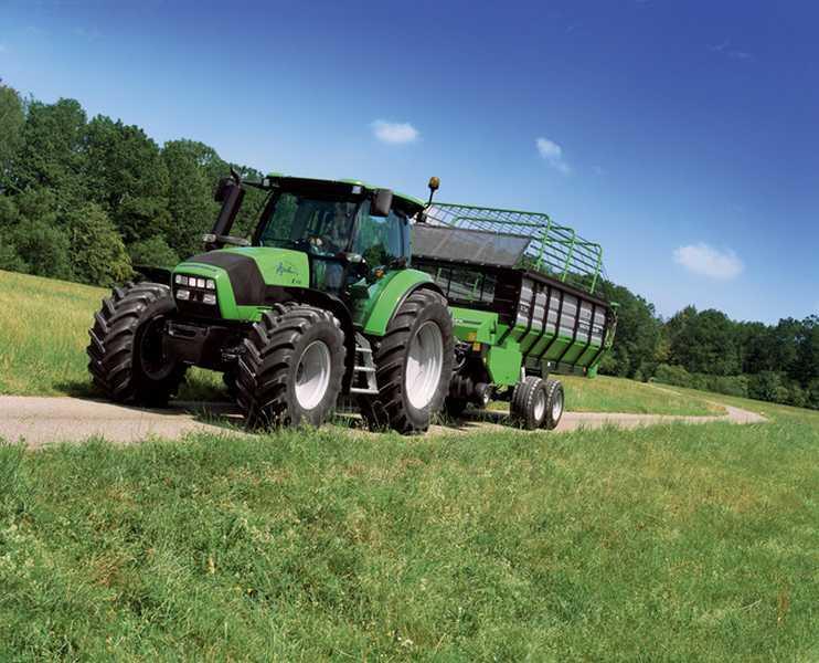 Photo du Tracteurs agricoles Agrotron K 100