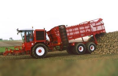 Photo du Récolte des betteraves R9150 (débardeuse automotrice)