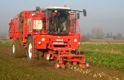 Photo du Récolte des betteraves R7150 (débardeuse automotrice)