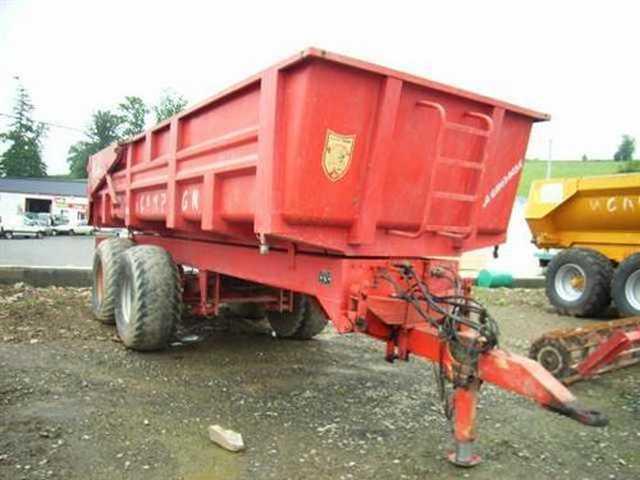 Photo du Remorques agricoles BBC 12, 13....18 et BTN 22,6