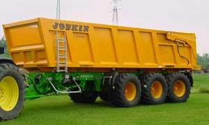 Photo du Remorques agricoles Trans-Space 14, 16, 18, 20, 22 et 24 tonnes