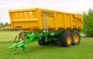 Photo du Remorques agricoles Trans-Cap 12, 14, 16 et 18 t