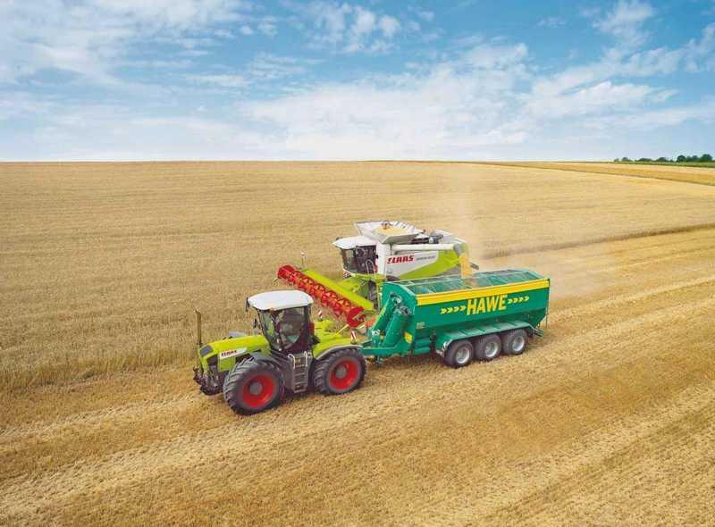 Photo du Tracteurs agricoles Xerion 2500