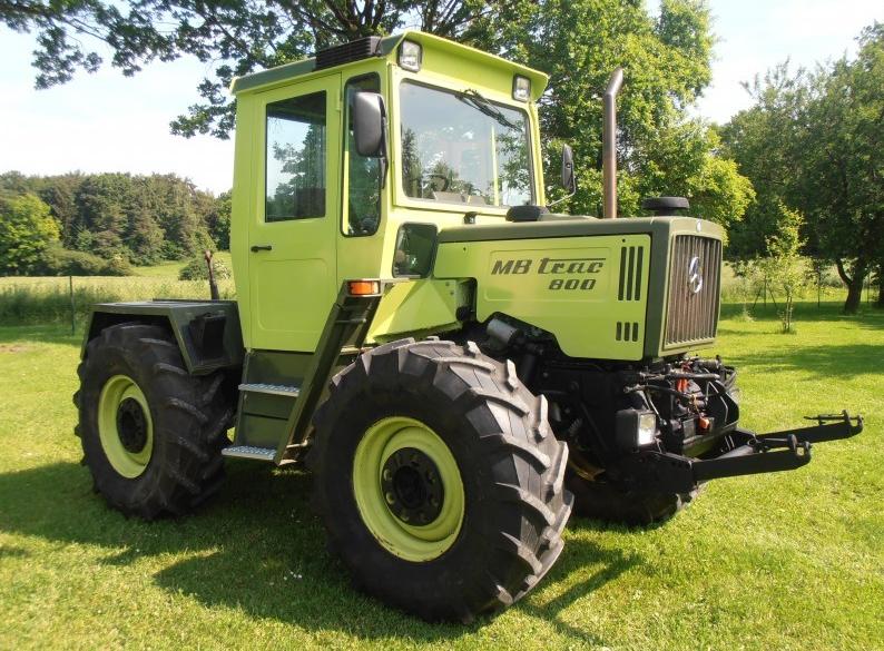 Avis mb trac 800 de la marque mercedes tracteurs agricoles - Image tracteur ...