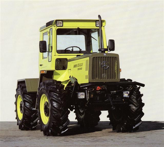 Photo du Tracteurs agricoles MB-trac 1000