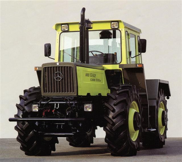 Photo du Tracteurs agricoles MB-trac 1300 turbo
