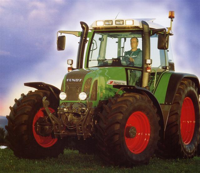 Photo du Tracteurs agricoles Favorit 714 Vario