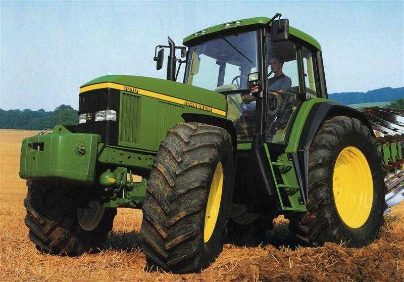 avis 6910 de la marque john deere tracteurs agricoles. Black Bedroom Furniture Sets. Home Design Ideas