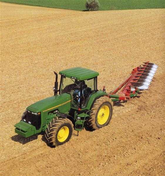 Photo du Tracteurs agricoles 8100