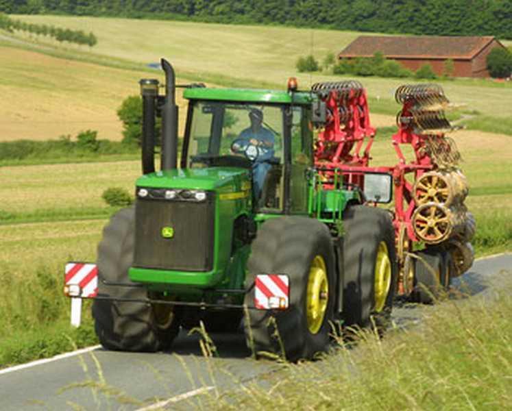 Photo du Tracteurs agricoles 9520