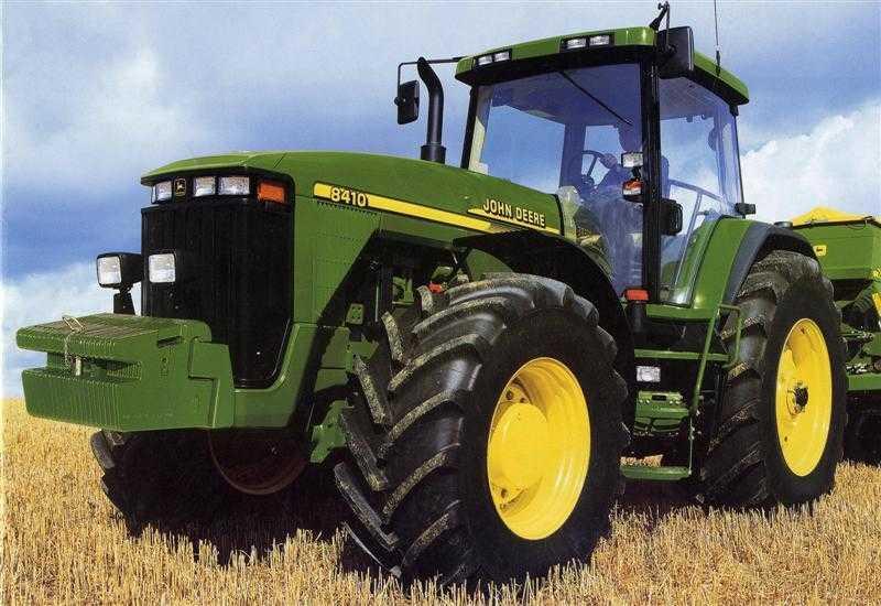 Photo du Tracteurs agricoles 8410